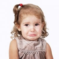 Meltdowns at childcare pick-up