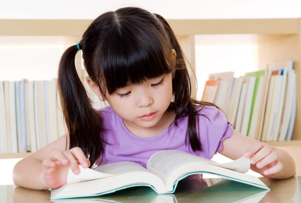 encouraging your child to read